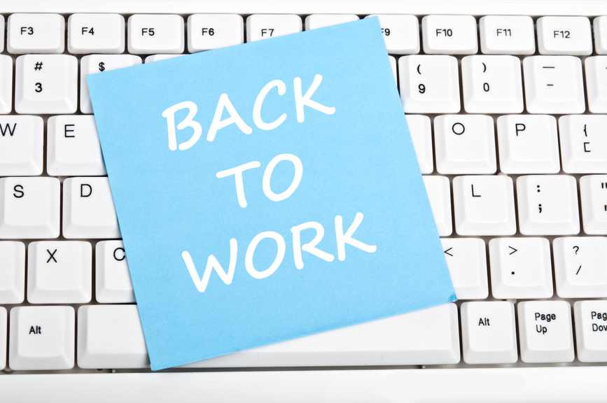 Returning to Work After Maternity Leave – Again