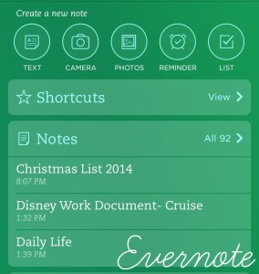 Evernote List