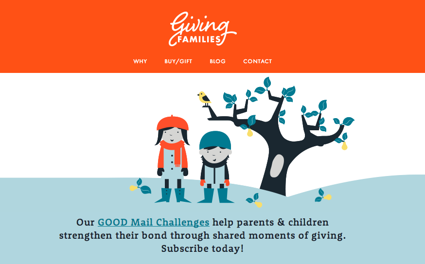GOOD Mail Challenges are fun, easy activities that you and your kids can do together to make the world a better place.