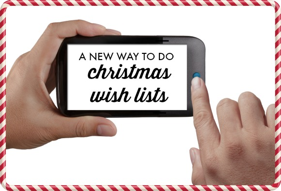 A Modern Twist on Christmas Gift Lists