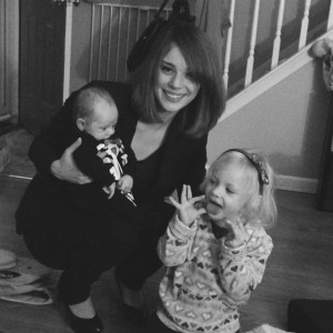 My littles and I.