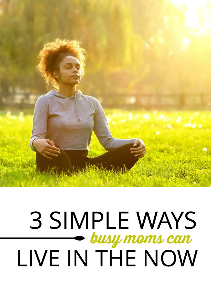 Feel like you're racing from one moment to the next, without experiencing the place you're in right now? Try these simple steps to help quiet your mind, bring a few moments of peace, and feel more present and connected with your family.