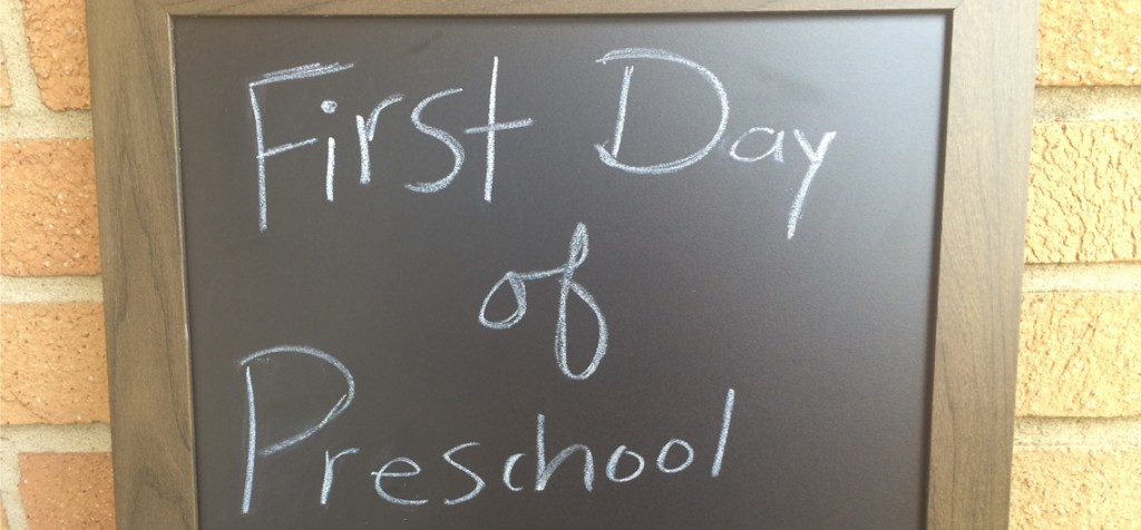 The First, First Day of School