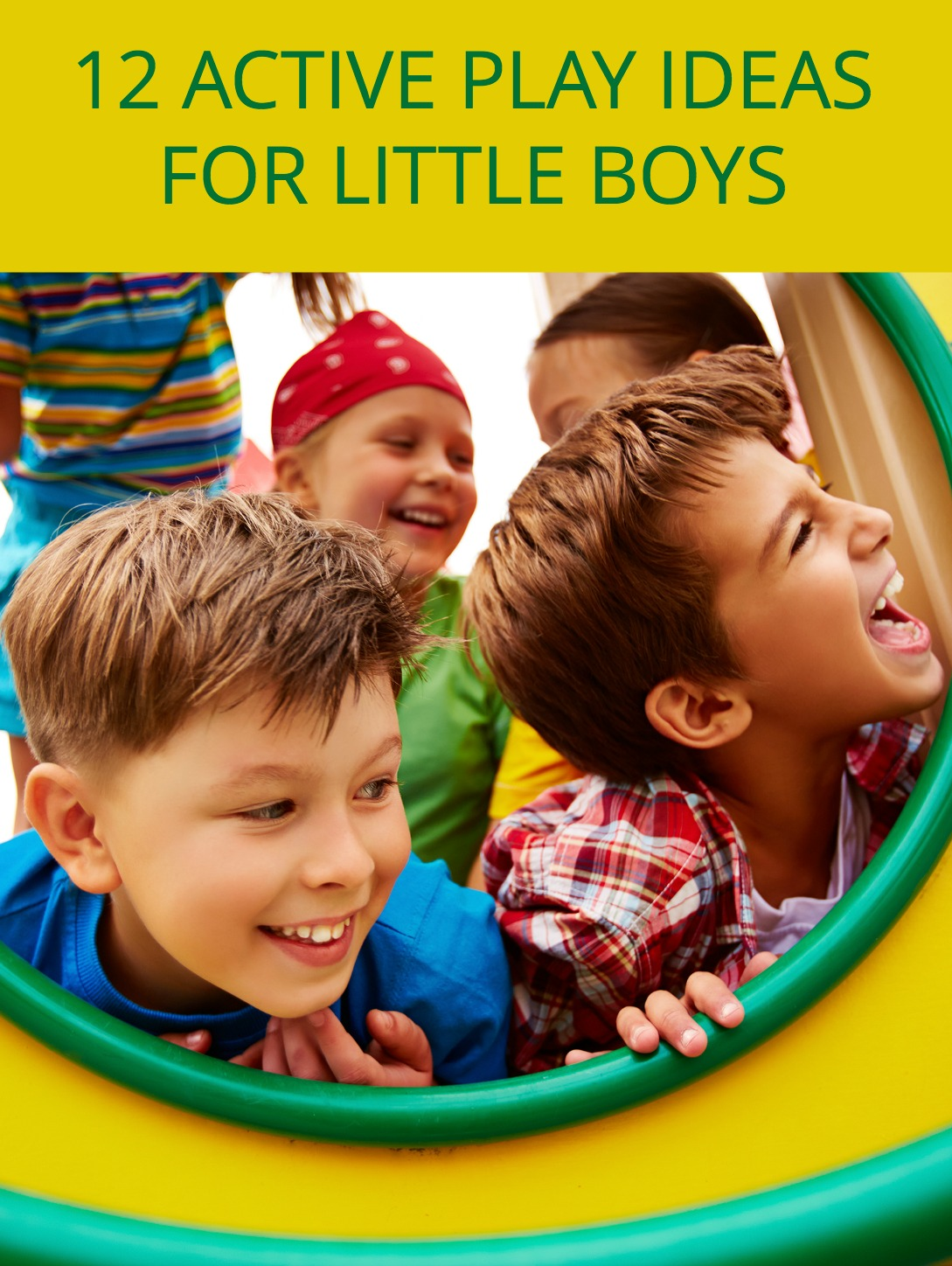 If you like a good challenge, then being a boy mom is right up your alley. Here are 12 fun activities for boys to help them burn all that extra energy.