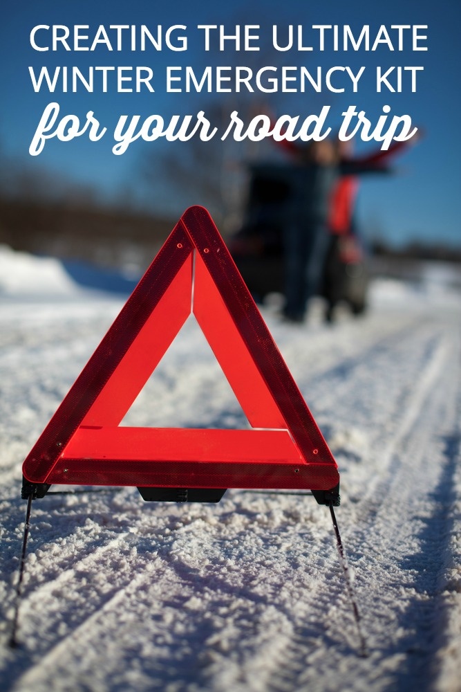 If you're going on a road trip this winter, make sure you have what you need to get your family home safe if a winter accident leaves you stranded. Find out what to keep in your car—just in case.