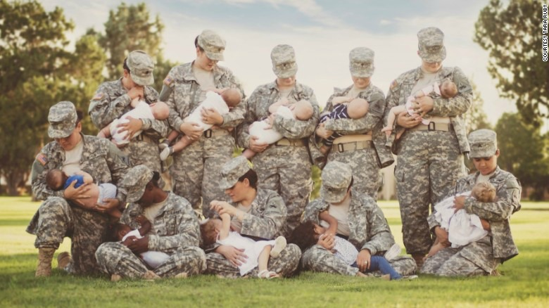 A Veterans Day Salute to Military Moms