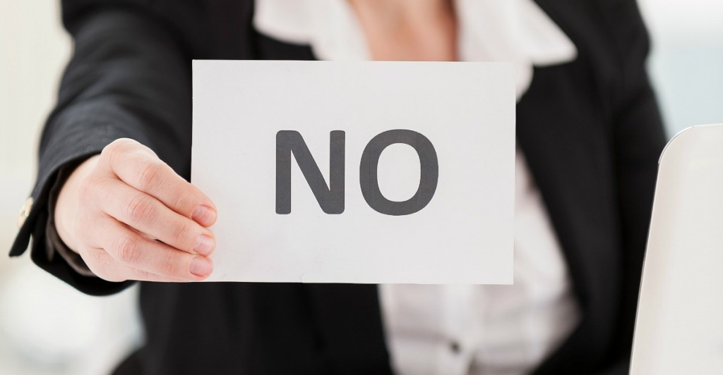 "Follow This Simple Formula for Saying ""No"""