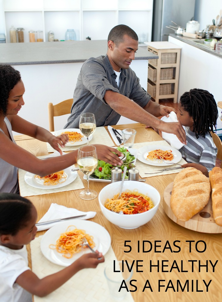 Motivated to help your family be healthier in the new year? Here are a few easy ways to get started.