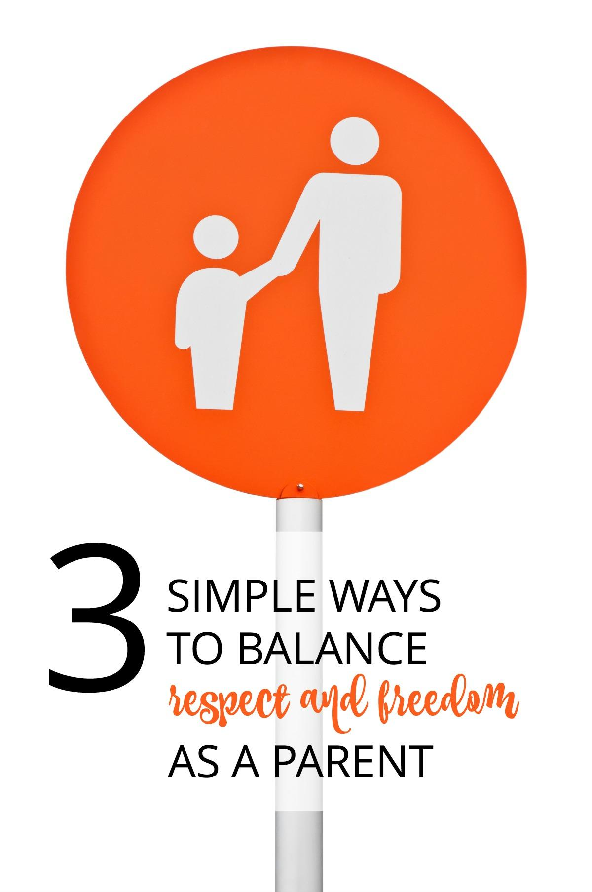 Parents want to give our children freedom, but how do you balance that with authority and respect? A parenting expert shares 3 tips to make sure you remain in the driver's seat as a parent.