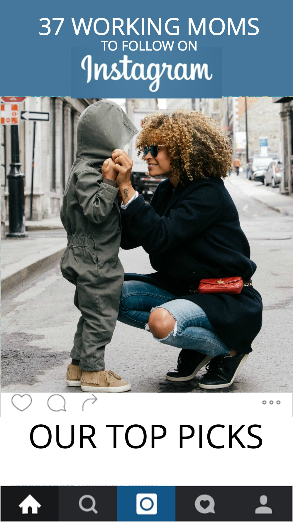 Want to spice up your Instagram feed with fresh, fabulous working-mom awesomeness? Check out this list of our favorite working moms on Instagram.