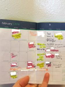 Mom's Schedule