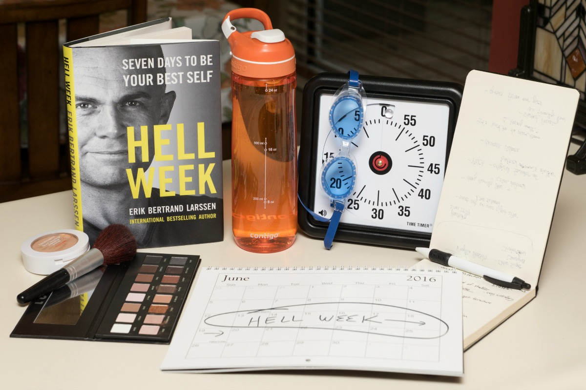 Ditching my old ways for new, healthy habits takes more than willpower. That's why I'm starting Hell Week, a 7-day plan to be your best self. It's go time!