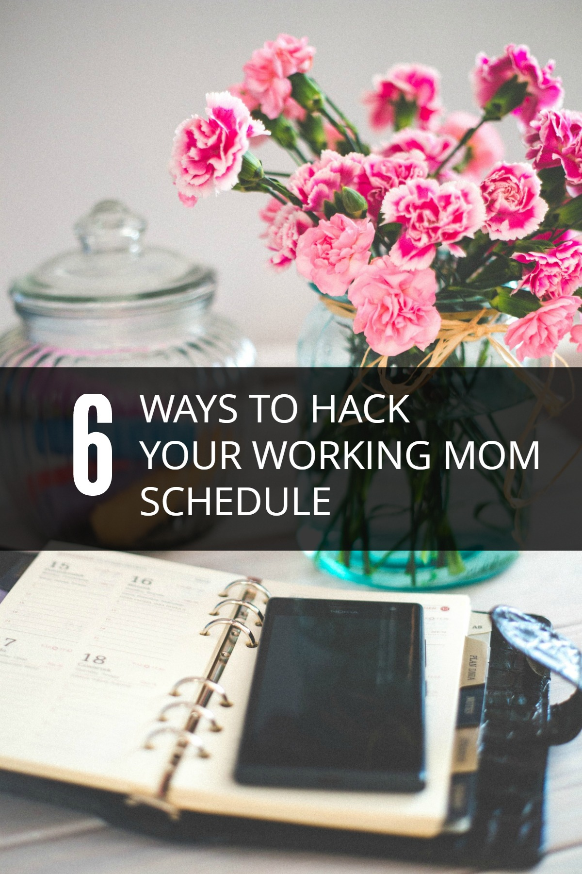 Over the years, I've learned some tricks to create the perfect working mom schedule. And when kids are involved, the schedule is constantly shifting.