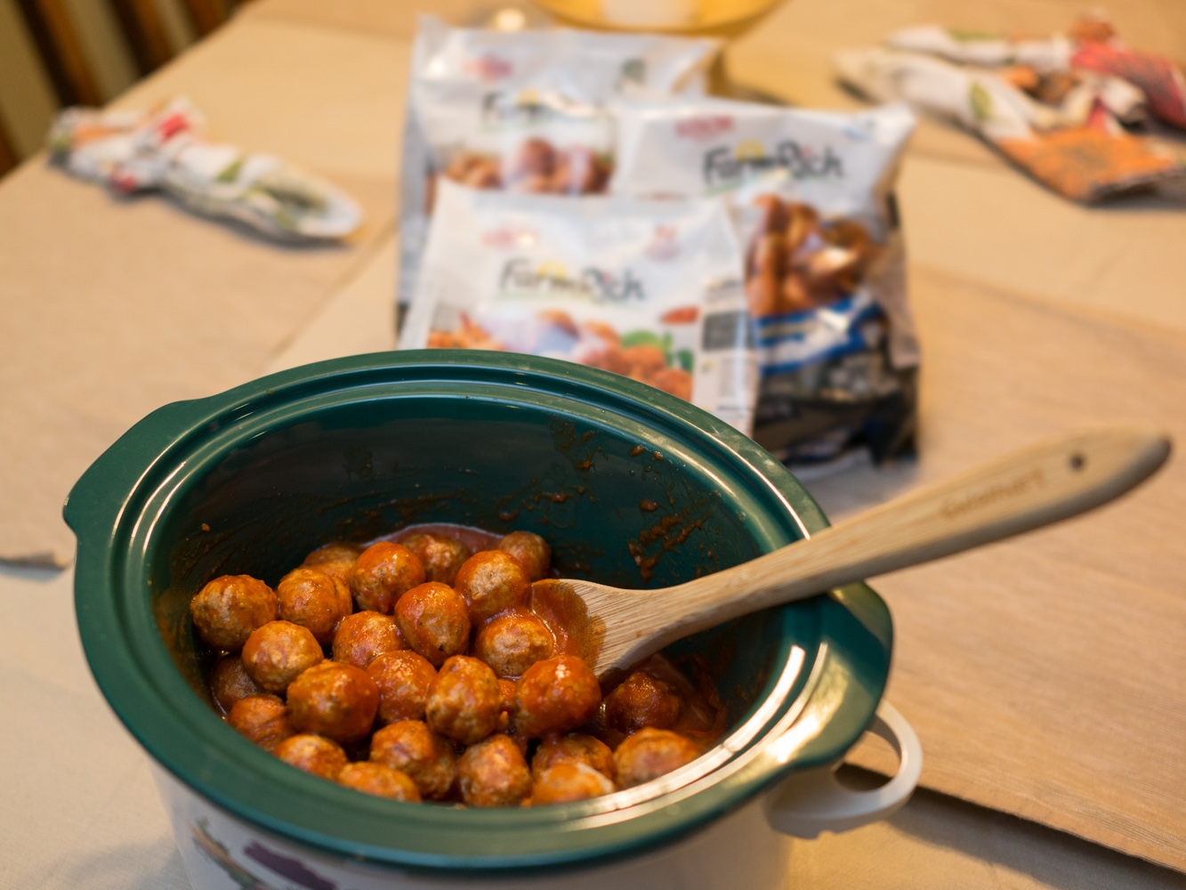 Short on time, but still want to bring homemade food to potlucks? Check out these slow cooker meatball recipes to assemble in bulk and freeze for later.